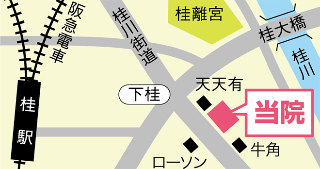 桂院 地図